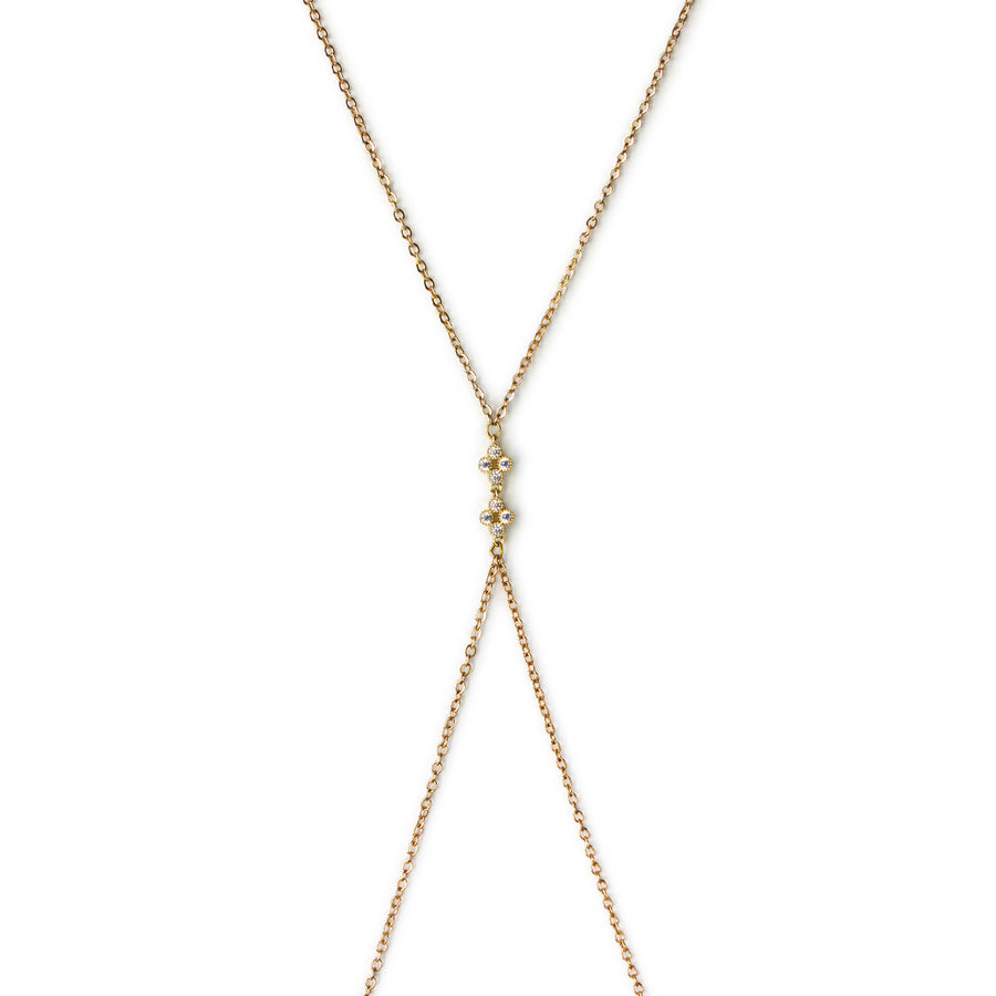 Belle Bodychain, Body Chain - AMY O. Jewelry