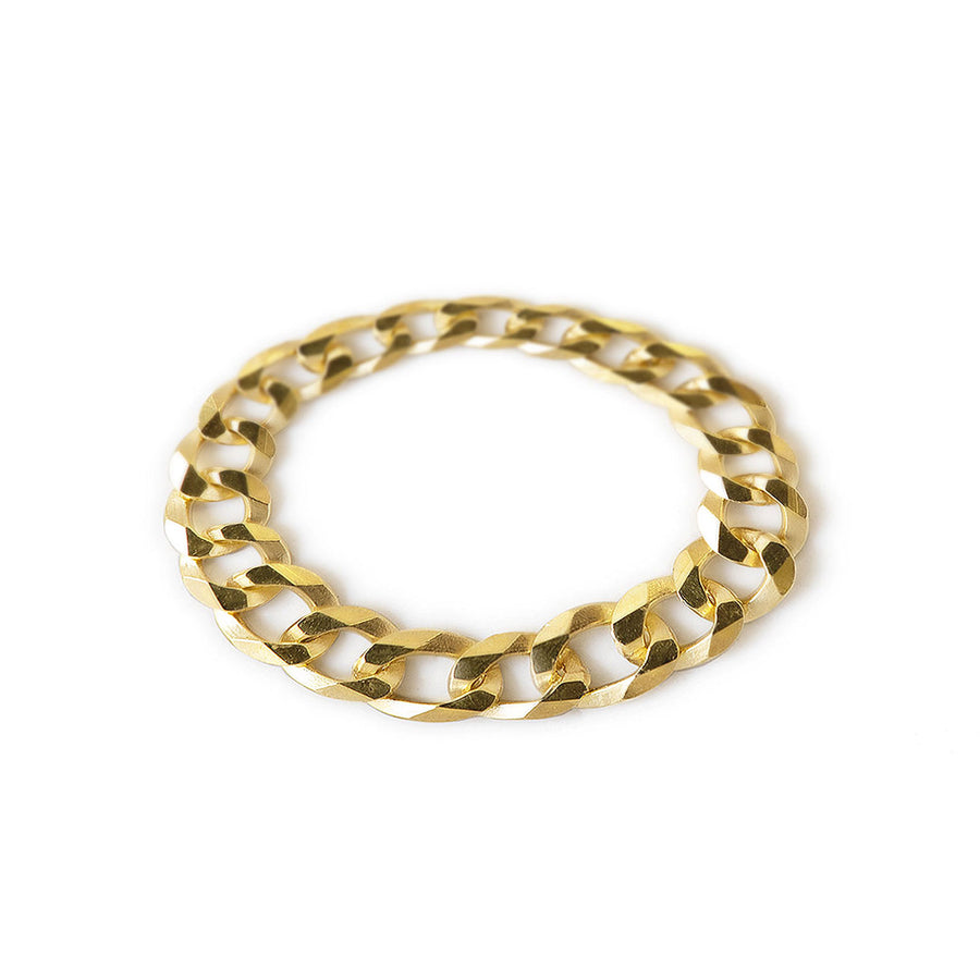 Thick Curb Chain Ring 4mm