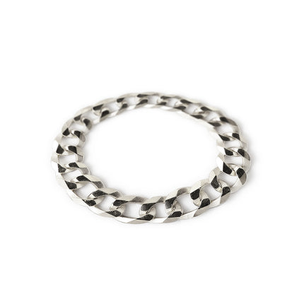 Thick Curb Chain Ring