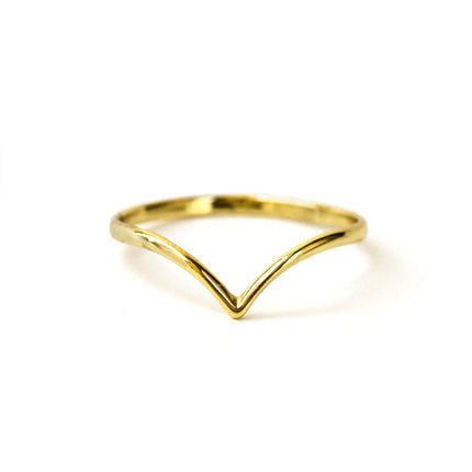 Dainty Chevron Ring