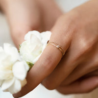 Petite Solitaire Ring, Rings - AMY O. Jewelry
