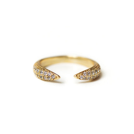 Claw Pave Ring