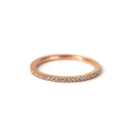 Pavé Eternity Ring