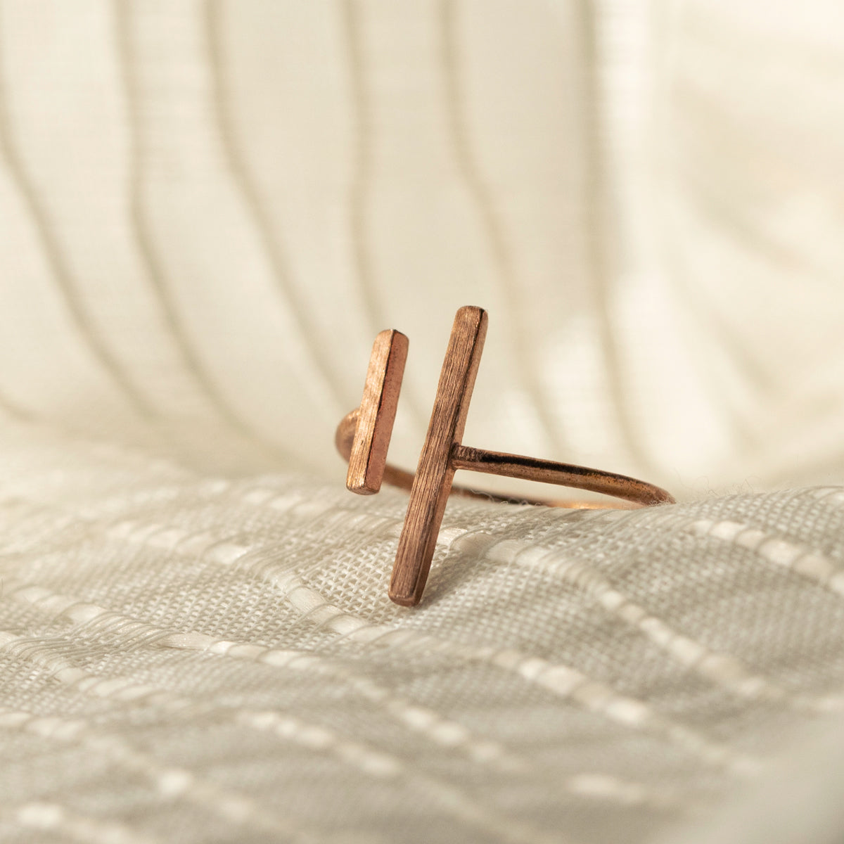 Minimalist Bar Ring, Rings - AMY O. Jewelry