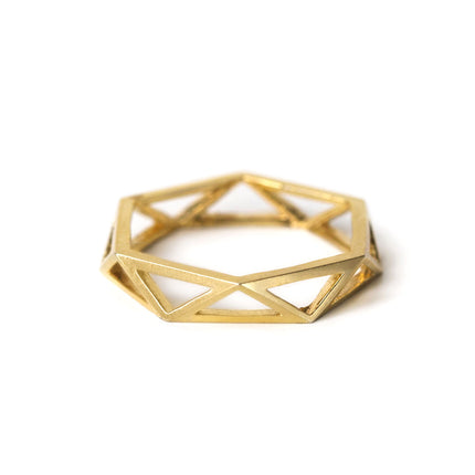 Geometric Eternity Ring