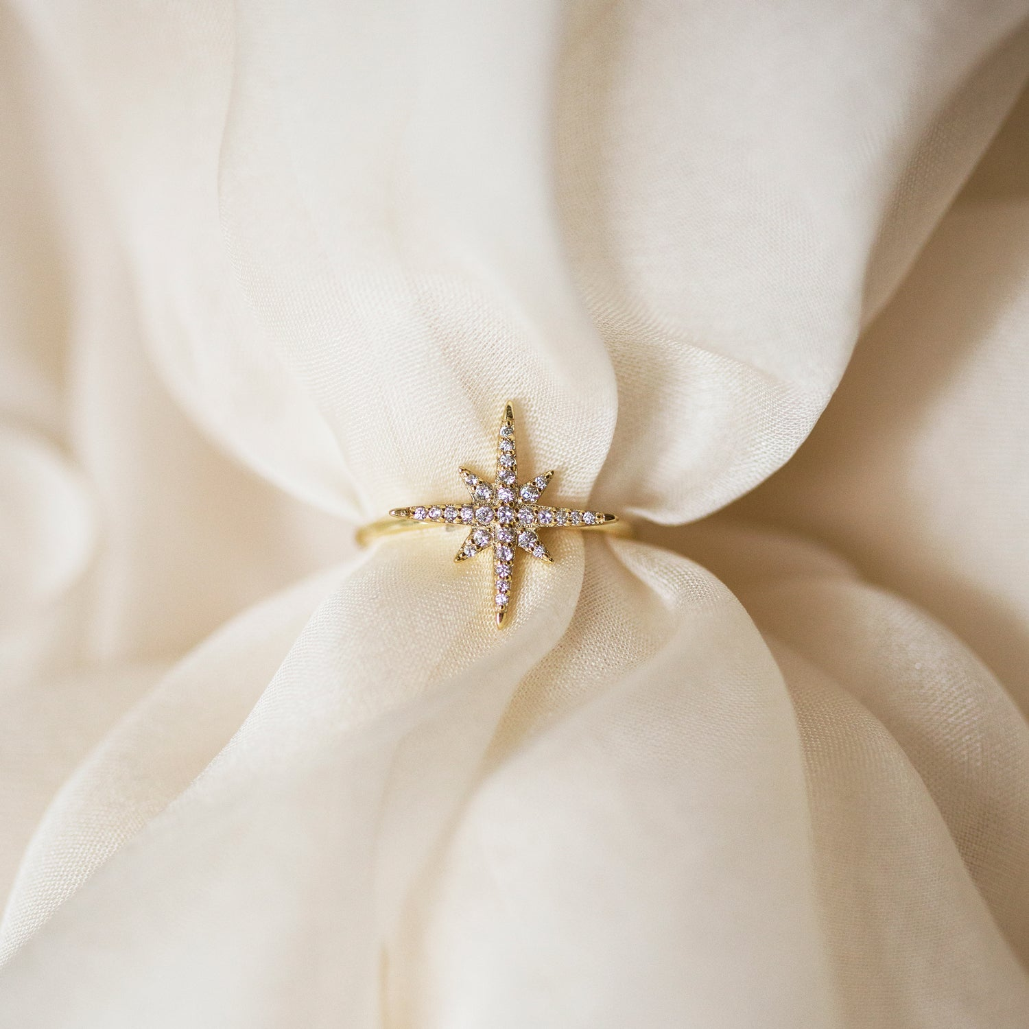 Celeste Star Ring, Rings - AMY O. Jewelry
