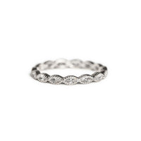 Marquise Crystal Eternity Ring