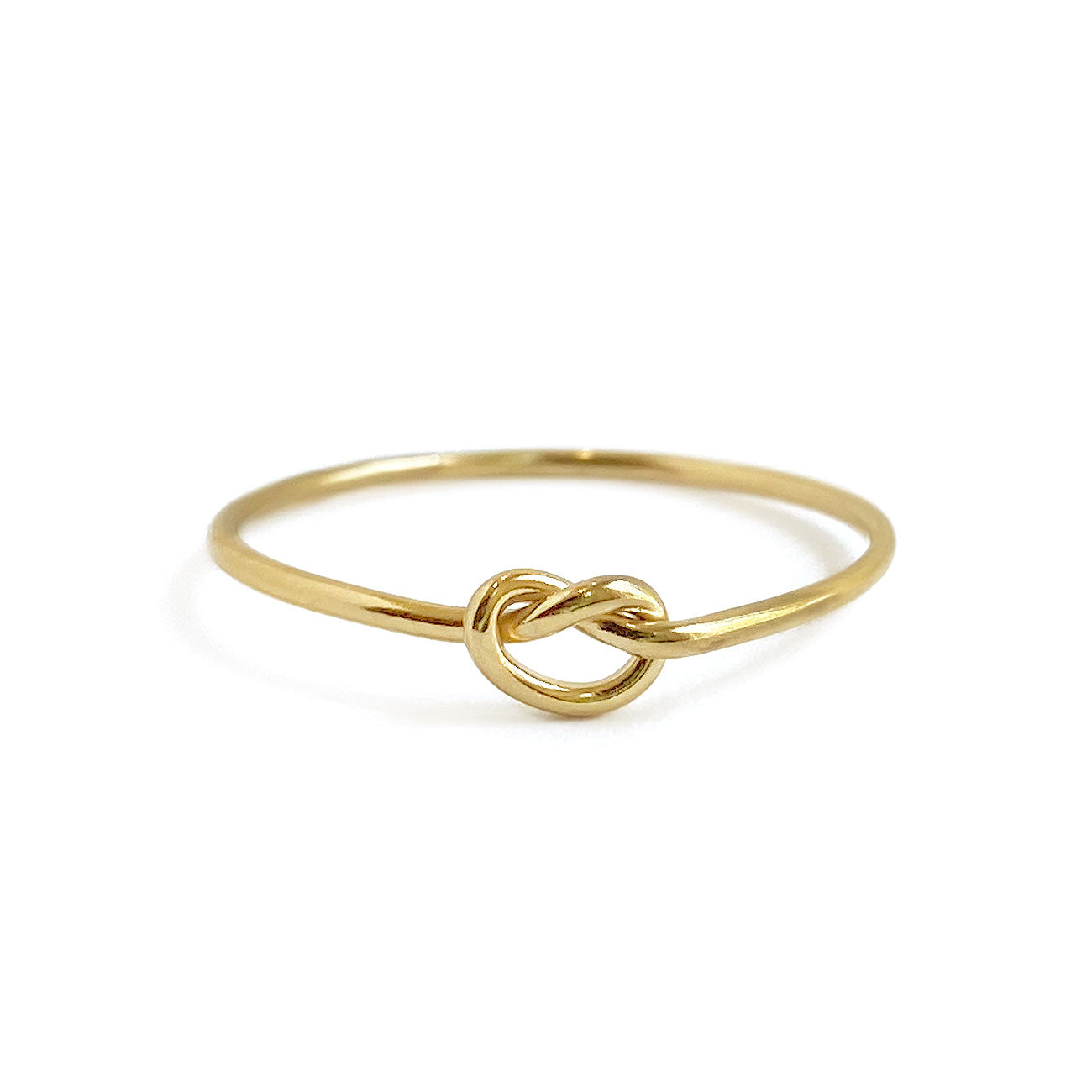 Dainty Gold Knot Ring