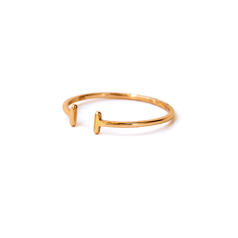 Tiny Bar Ring, Rings - AMY O. Jewelry