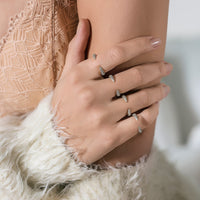 Claw Pave Ring, Rings - AMY O. Jewelry