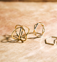 Geometric Eternity Ring, Rings - AMY O. Jewelry