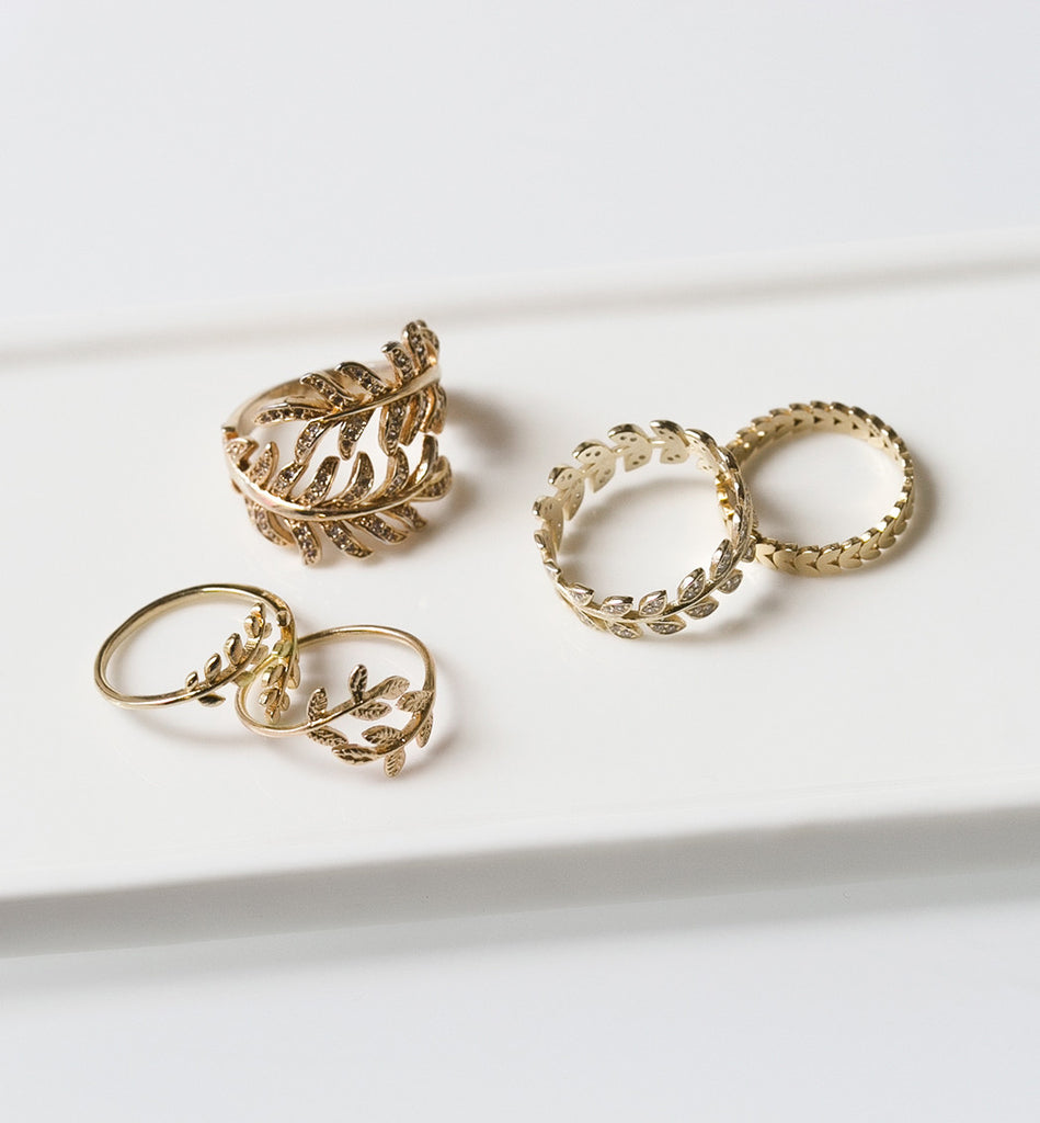 Flora Small Ring, Rings - AMY O. Jewelry