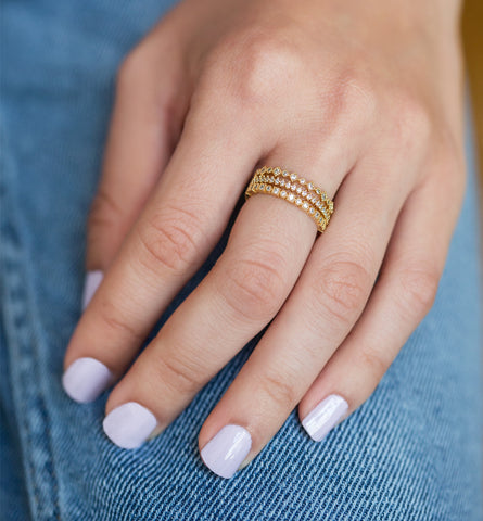 Audrey Ring, Rings - AMY O. Jewelry