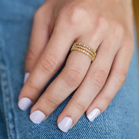 Eva Squared Ring, Rings - AMY O. Jewelry