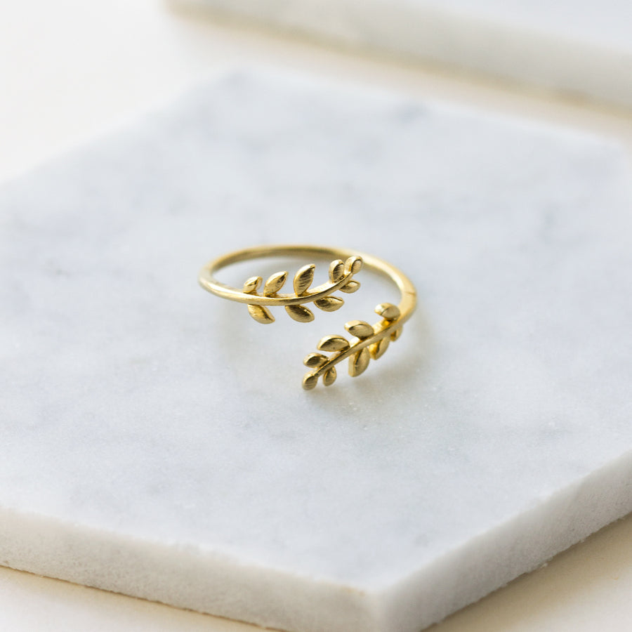 Ivy Leaf Ring, Rings - AMY O. Jewelry