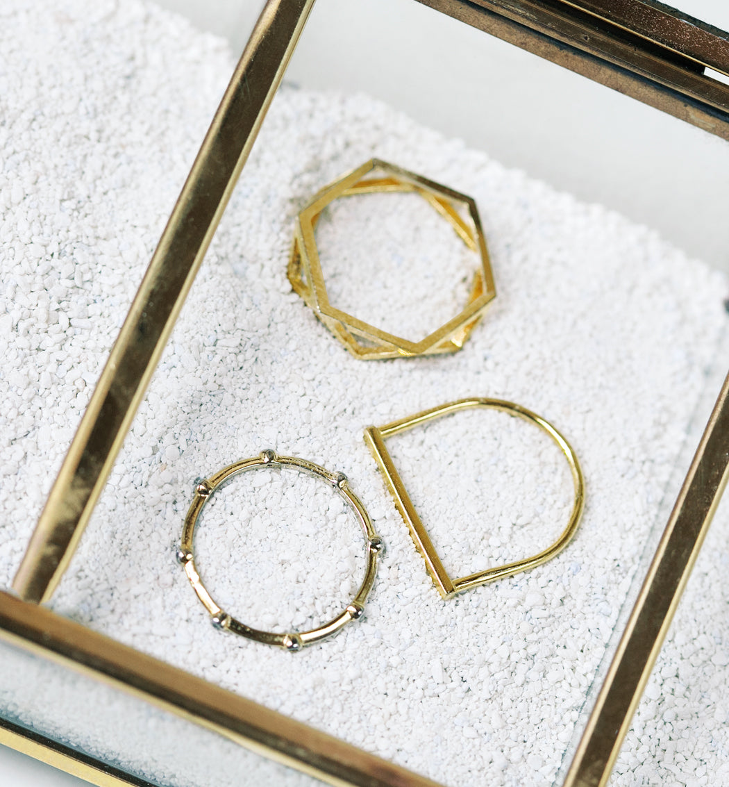 Linear Ring, Rings - AMY O. Jewelry