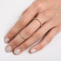Sheila Pave Eternity Ring, Rings - AMY O. Jewelry