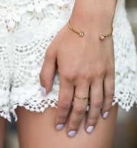 Shay Open Ring, Rings - AMY O. Jewelry