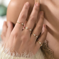 Frida Quad Ring, Rings - AMY O. Jewelry