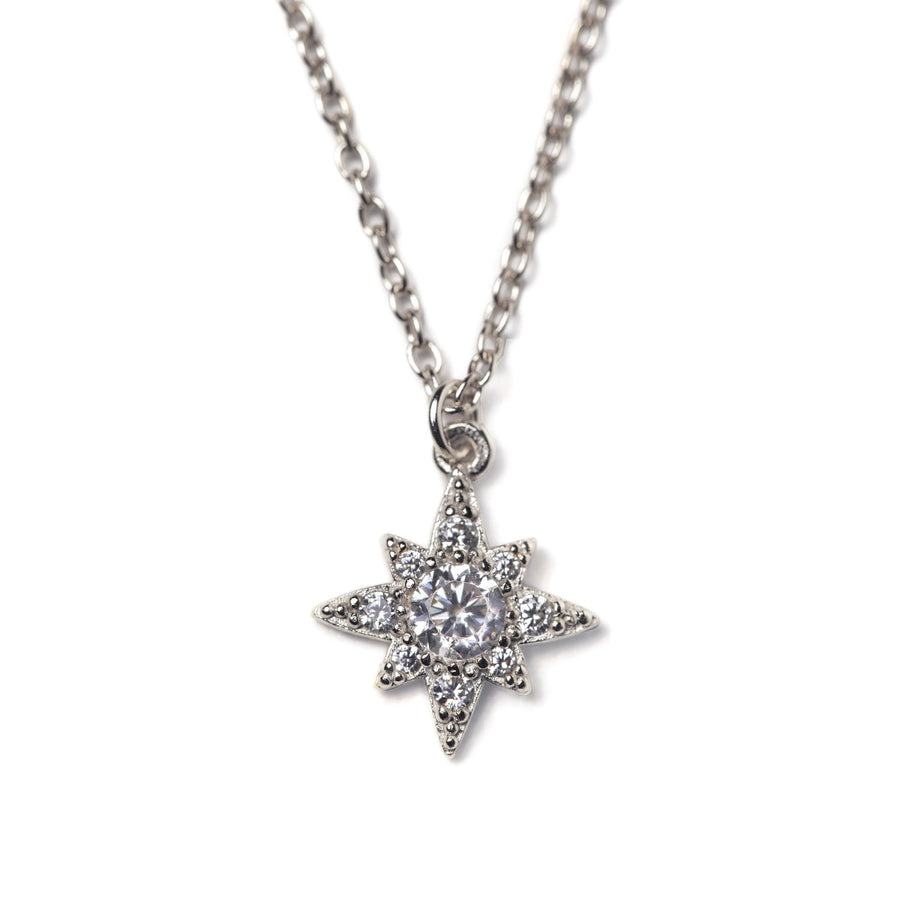 Celeste Starburst Pendant, Necklaces - AMY O. Jewelry