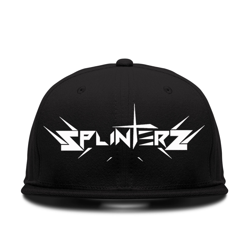 Splinters Hat Black/White
