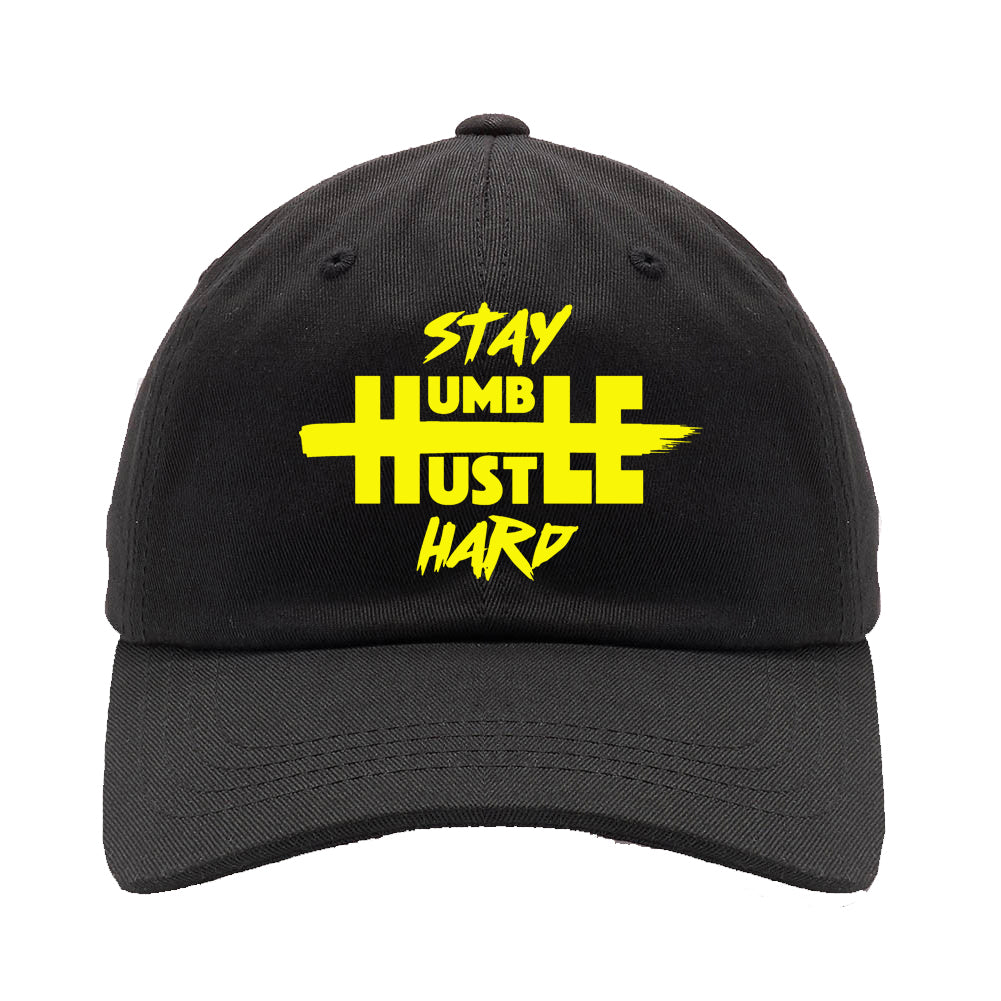 Stay Humble Hustle Hard - Dad Hat