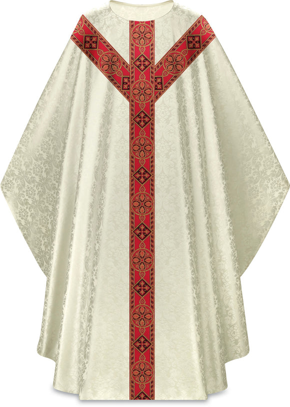 Slabbink - Duomo Chasuble with Beautiful Woven Galoon