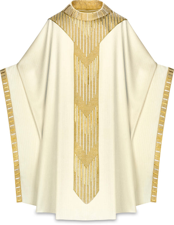 Slabbink - Cantate Chasuble worn by Pope Benedict XVI