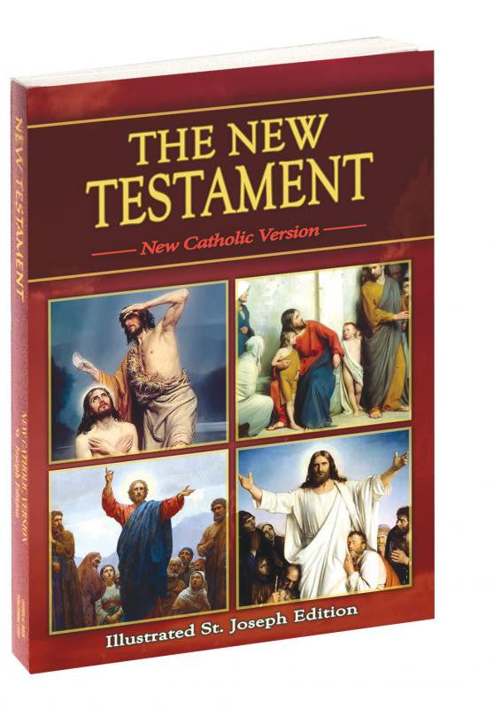ST. JOSEPH NEW TESTAMENT (Study Edition)