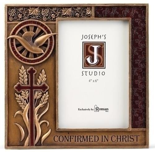"7.5"" CONFIRMATION FRAME 4X6 - BRONZE FINISH"