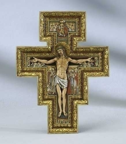 San Damiano Cross - 10.75""