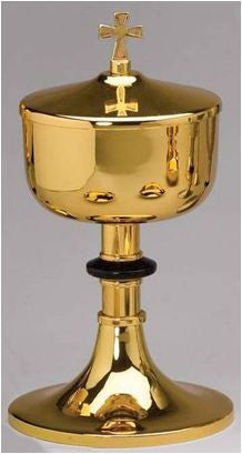 Ciborium w. Lid - High Polished Gold - Z480A250