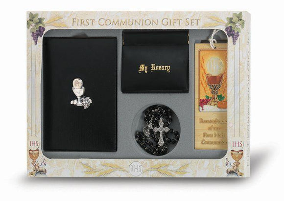 6 PIECE DELUXE FIRST COMMUNION GIFT SET