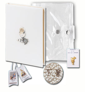 GIRL'S FIRST COMMUNION 5 PIECE GIFT SET