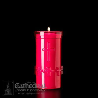6-Day Devotiona-Lites - (Plastic Offering Candle)