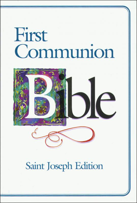 ST. JOSEPH FIRST COMMUNION BIBLE (N.A.B.R.E./Boys)