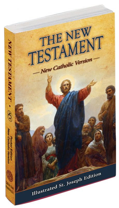 NEW TESTAMENT (POCKET SIZE) NEW CATHOLIC VERSION (PAPERBACK)