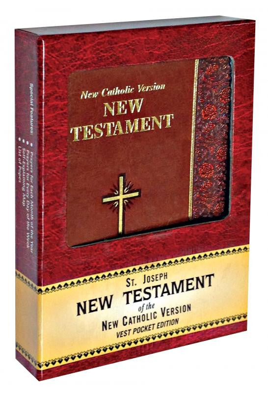 ST. JOSEPH N.C.V. NEW TESTAMENT (VEST POCKET EDITION)
