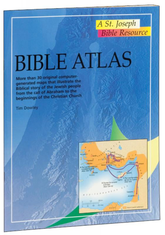 BIBLE ATLAS - EASY TO USE BIBLE STUDY GUIDE