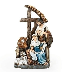 Holy Family With Cross Stable
