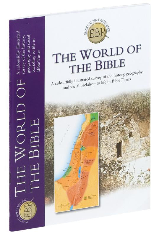 THE WORLD OF THE BIBLE - EASY TO USE BIBLE STUDY GUIDE