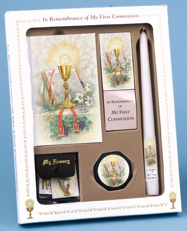 FIRST MASS BOOK (PRAY ALWAYS EDITION) DELUXE SET