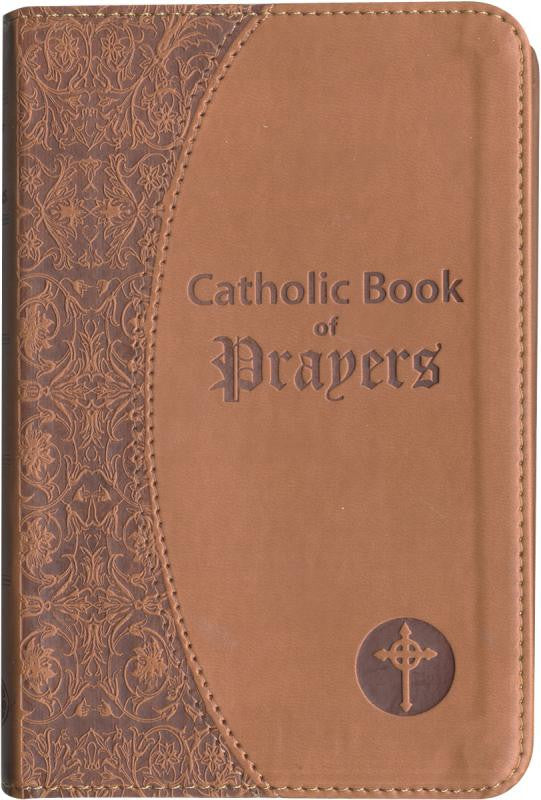 CATHOLIC BOOK OF PRAYERS - IMITATION LEATHER (CHOOSE COLOR)