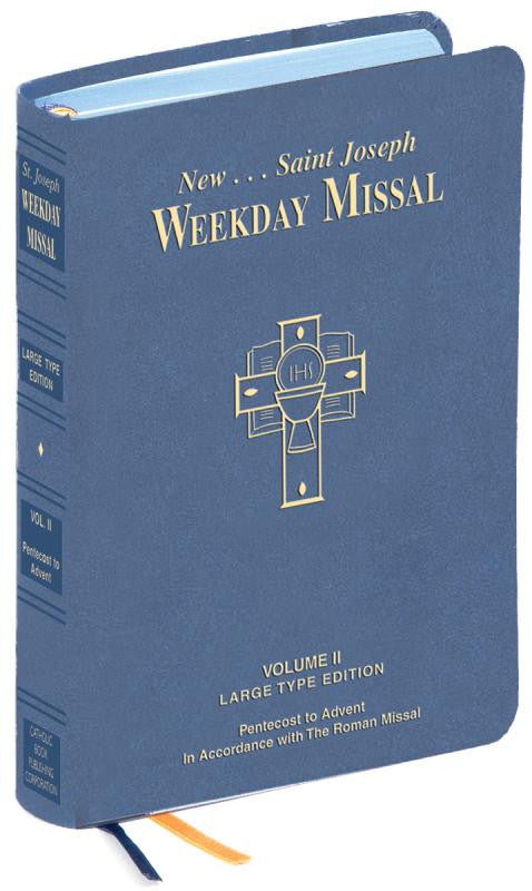 ST. JOSEPH WEEKDAY MISSAL LARGE TYPE VOLUME II