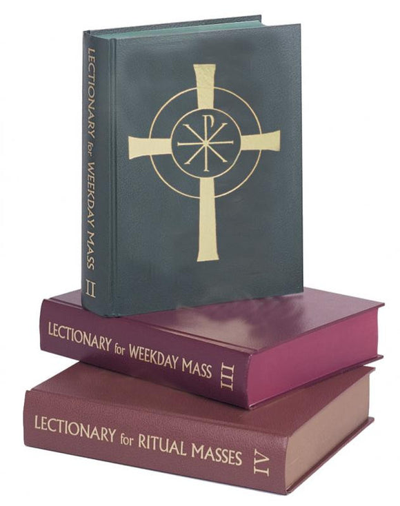 LECTIONARY - WEEKDAY MASS (Set of 3/Chapel)*