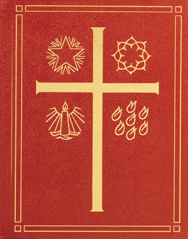 LECTIONARY - SUNDAY MASS (Pulpit) LEATHER BOUND - GOLD EDGES