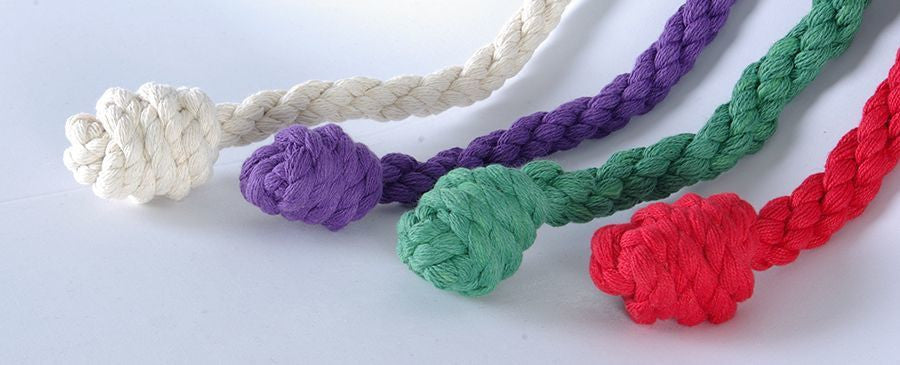 "Cinctures - #30 Knotted Rope - 144"" Long"
