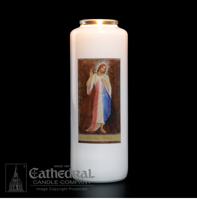 Divine Mercy Candle