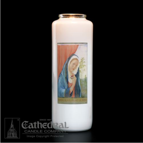 Immaculate Heart of Mary Candle