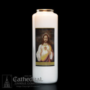 Sacred Heart Candle